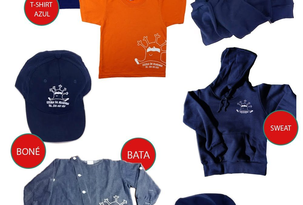 Votação: Qual a tua cor favorita para a t-shirt Vilas?