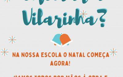 Natal 2020: Vamos enfeitar a Vilarinha