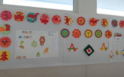Vídeo: Trabalhos de Natal do 3ºA