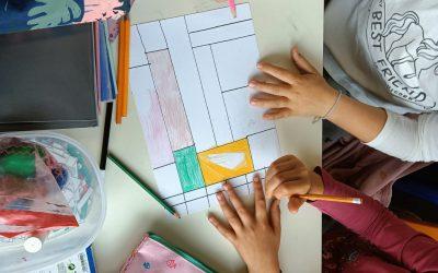 2ºA descobre o pintor Mondrian
