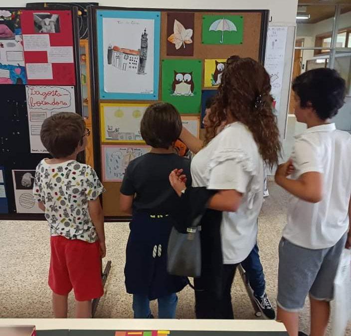 3ºB visita a Escola EB 2,3 Manoel de Oliveira