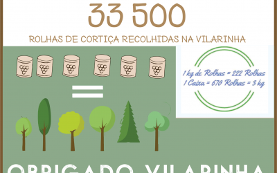 Greencork: 33500 rolhas recolhidas