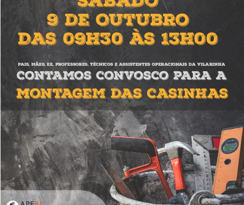 Convite: Montagem das Casinhas