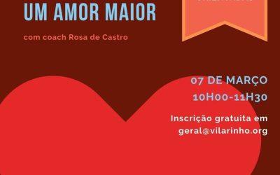 "Workshop ""Auto-Estima: um Amor Maior"""